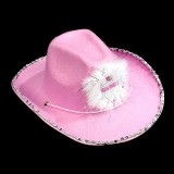 Girls Night Out Cowgirl Hat