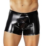Male Power Liquid Onyx Wet Look Pouch - Large