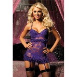 Seven Til Midnight Temptation Chemise Set - Small